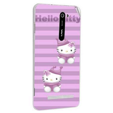 Snooky 41685 Digital Print Mobile Skin Sticker For Lava Iris 503 - Pink