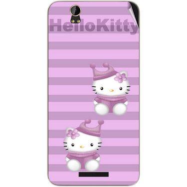 Snooky 41793 Digital Print Mobile Skin Sticker For Lava Iris X1 - Pink