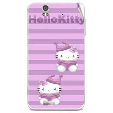 Snooky 41805 Digital Print Mobile Skin Sticker For Lava Iris X5 - Pink