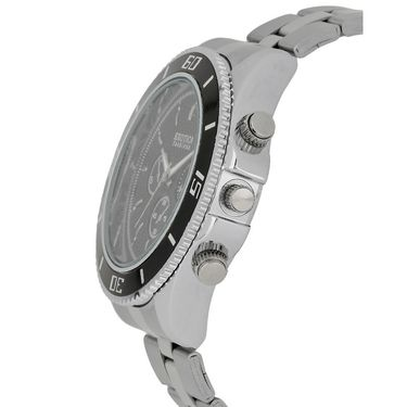 Exotica Fashions Analog Round Dial Watches_E08st8 - Black