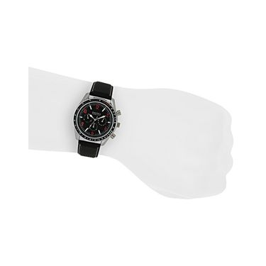 Exotica Fashions Analog Round Dial Watches_E16ls14 - Black