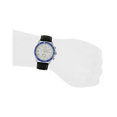 Exotica Fashions Analog Round Dial Watches_E10ls19 - White