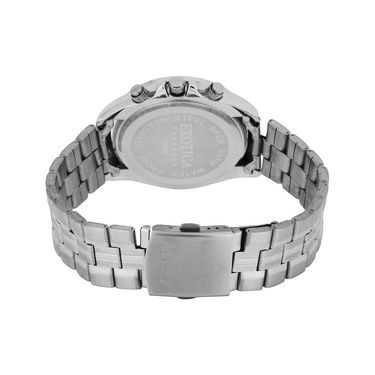 Exotica Fashions Analog Round Dial Watches_E02st33 - Silver