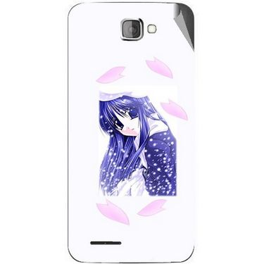 Snooky 46223 Digital Print Mobile Skin Sticker For Micromax Canvas Mad A94 - White