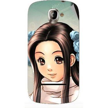 Snooky 47126 Digital Print Mobile Skin Sticker For Xolo A500 - Multicolour