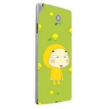Snooky 47156 Digital Print Mobile Skin Sticker For Xolo A500 Club - Green