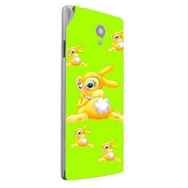 Snooky 47170 Digital Print Mobile Skin Sticker For Xolo A500 Club - Green