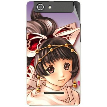 Snooky 47189 Digital Print Mobile Skin Sticker For Xolo A500s - Multicolour