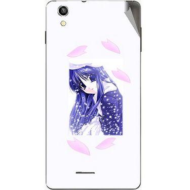 Snooky 47406 Digital Print Mobile Skin Sticker For Xolo A1010 - White