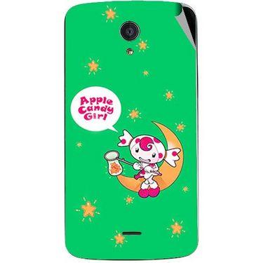 Snooky 47415 Digital Print Mobile Skin Sticker For Xolo Omega 5.0 - Green