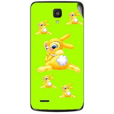 Snooky 47618 Digital Print Mobile Skin Sticker For Xolo Q700 - Green