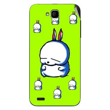 Snooky 47677 Digital Print Mobile Skin Sticker For Xolo Q800 - Green