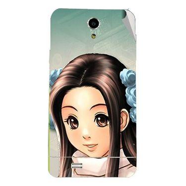 Snooky 47702 Digital Print Mobile Skin Sticker For Xolo Q900 - Multicolour