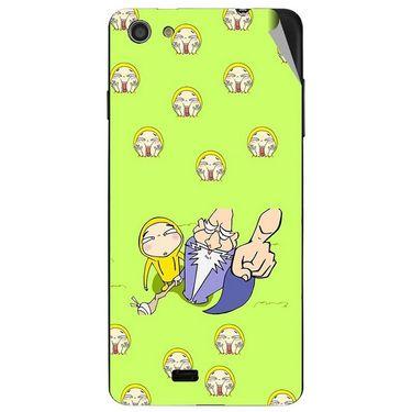 Snooky 47761 Digital Print Mobile Skin Sticker For Xolo Q900S - Green