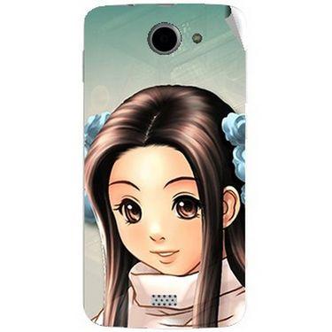 Snooky 47766 Digital Print Mobile Skin Sticker For Xolo Q1000 - Multicolour