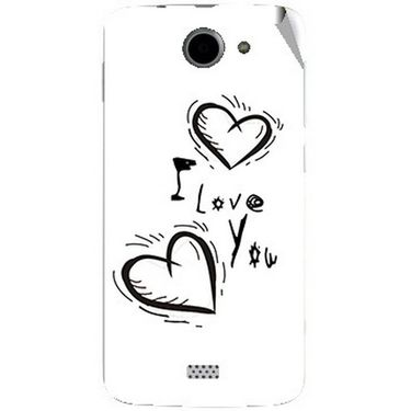 Snooky 47780 Digital Print Mobile Skin Sticker For Xolo Q1000 - White