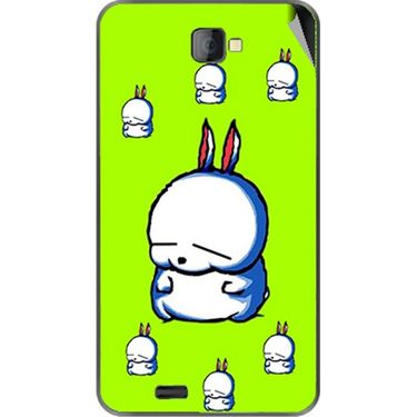 Snooky 48476 Digital Print Mobile Skin Sticker For Lava Iris 502 - Green