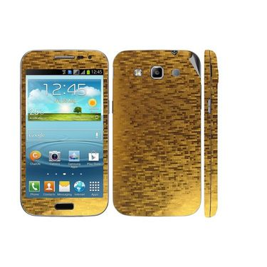 Snooky 18194 Mobile Skin Sticker For Samsung Galaxy Grand Quattro 8552 - Gold