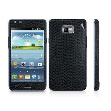 Snooky 18244 Mobile Skin Sticker For Samsung Galaxy S2 I9100 - Black
