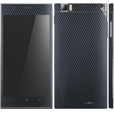 Snooky 18721 Mobile Skin Sticker For Lenovo K900 - Black