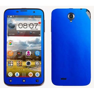 Snooky 20482 Mobile Skin Sticker For Lenovo A850 - Blue