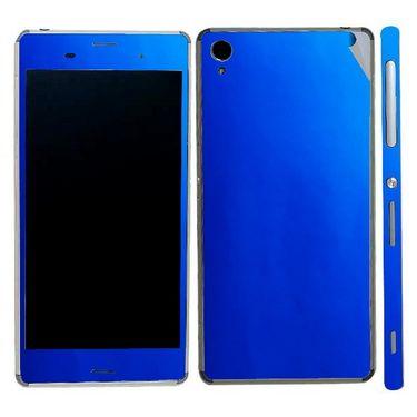 Snooky 20498 Mobile Skin Sticker For Sony Xperia Z3 - Blue