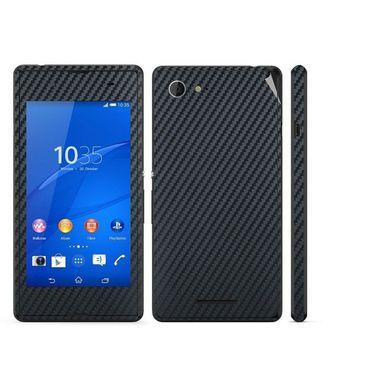 Snooky 20501 Mobile Skin Sticker For Sony Xperia E3 Dual - Black