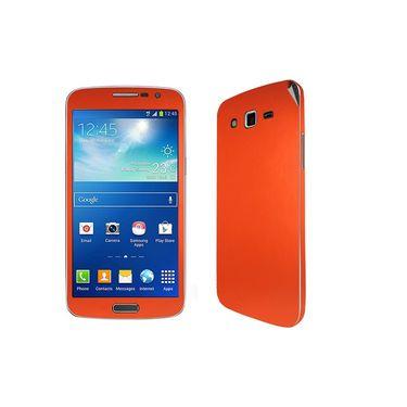 Snooky 20546 Mobile Skin Sticker For Samsung Galaxy Grand 2 G7102 - Orange