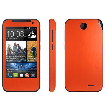 Snooky 20550 Mobile Skin Sticker For HTC Desire 310 - Orange