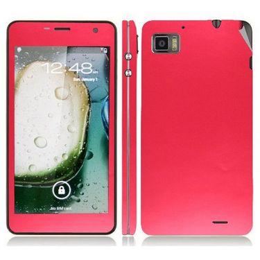 Snooky 20700 Mobile Skin Sticker For Lenovo K860 - Red
