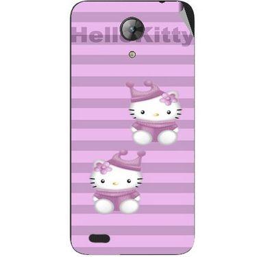 Snooky 42403 Digital Print Mobile Skin Sticker For Intex Aqua Style Mini - Pink