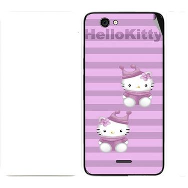 Snooky 42733 Digital Print Mobile Skin Sticker For Micromax Canvas knight cameo A290 - Pink