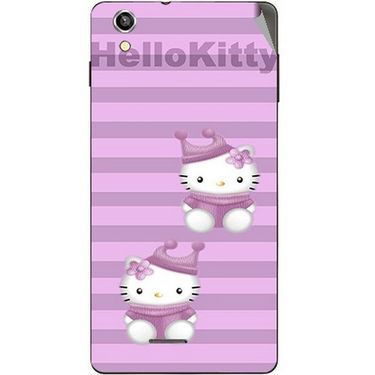 Snooky 42931 Digital Print Mobile Skin Sticker For XOLO A1010 - Pink