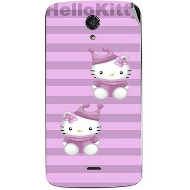 Snooky 42953 Digital Print Mobile Skin Sticker For Xolo Omega 5.5 - Pink