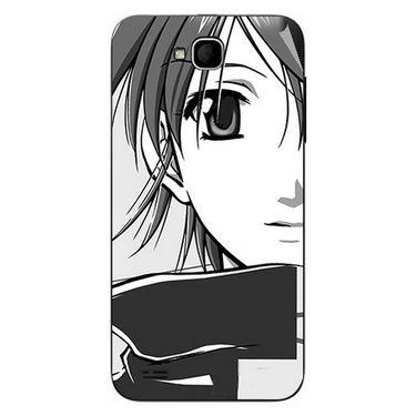 Snooky 43033 Digital Print Mobile Skin Sticker For Xolo Q800 - Grey