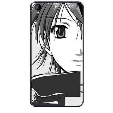 Snooky 43121 Digital Print Mobile Skin Sticker For Xolo Q2000L - Grey