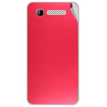 Snooky 43150 Mobile Skin Sticker For Intex Aqua 3g - Red