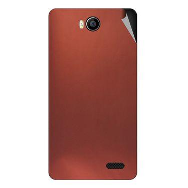 Snooky 43163 Mobile Skin Sticker For Intex Aqua 4.5e - Copper