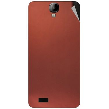 Snooky 43175 Mobile Skin Sticker For Intex Aqua Amaze - Copper