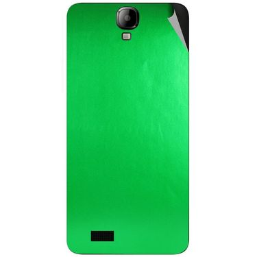 Snooky 43180 Mobile Skin Sticker For Intex Aqua Amaze - Green
