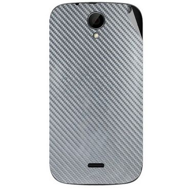Snooky 43242 Mobile Skin Sticker For Intex Aqua i3 - silver