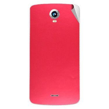Snooky 43270 Mobile Skin Sticker For Intex Aqua i6 - Red