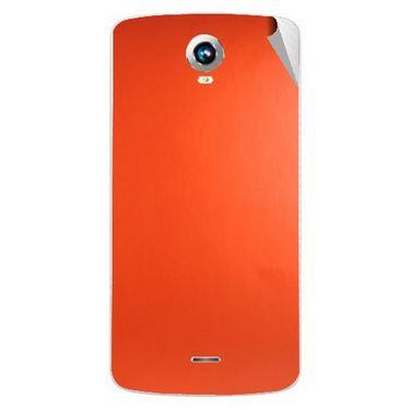 Snooky 43274 Mobile Skin Sticker For Intex Aqua i6 - Orange