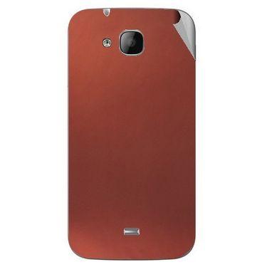 Snooky 43319 Mobile Skin Sticker For Intex Aqua N2 - Copper