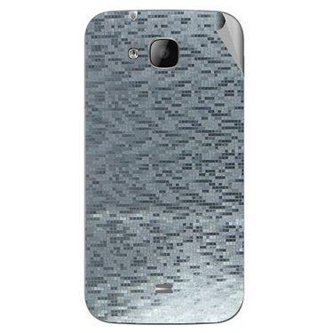 Snooky 43325 Mobile Skin Sticker For Intex Aqua N2 - silver