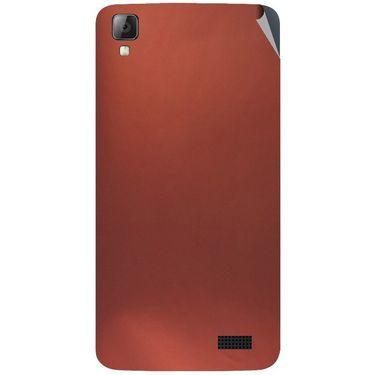 Snooky 43343 Mobile Skin Sticker For Intex Aqua N7 - Copper