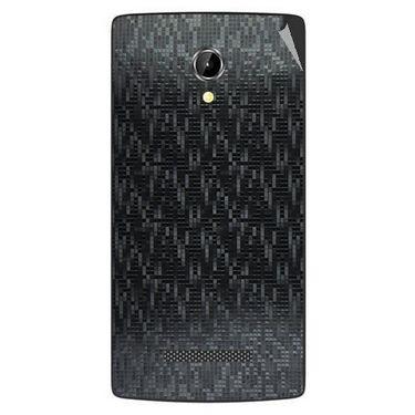 Snooky 43356 Mobile Skin Sticker For Intex Aqua N8 - Black