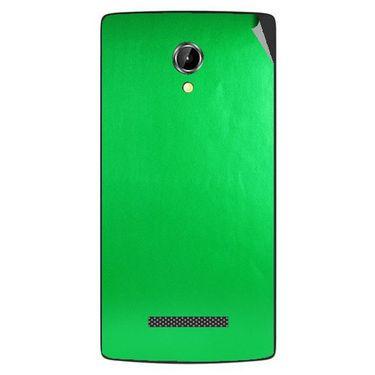 Snooky 43360 Mobile Skin Sticker For Intex Aqua N8 - Green