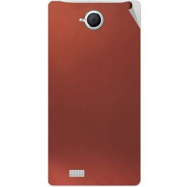 Snooky 43367 Mobile Skin Sticker For Intex Aqua N17 - Copper