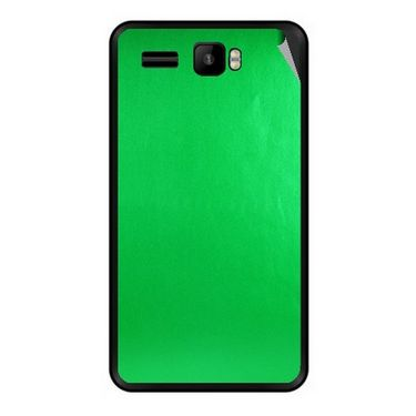 Snooky 43432 Mobile Skin Sticker For Intex Aqua R3 - Green